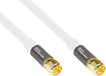 SmartFLEX - Cable de Antena satélite para televisión (3 m ...
