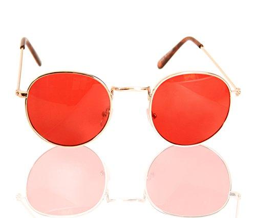 Mickey Knox Red Killer Glasses
