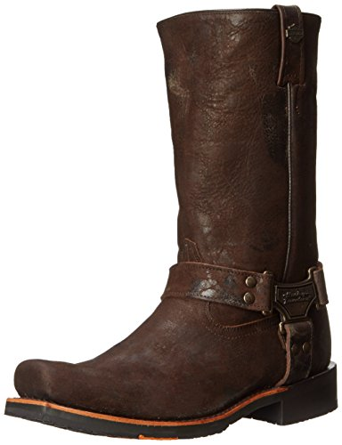 Harley-Davidson Men's Sawyer Motorcylce Harness Boot, Brown, 13 M US - Harley Davidson Western Boots Men