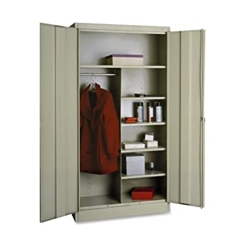 Amazon.com : TNN7214PY - Tennsco Combination Wardrobe/Storage ...