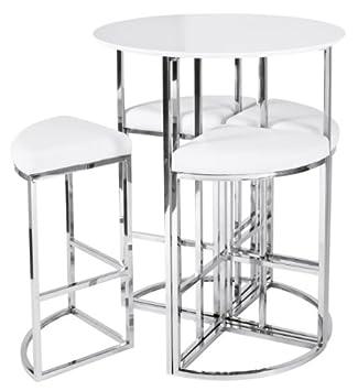 Table haute ronde cuisine solde table Objets decoration maison