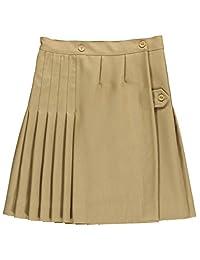Cookies Brand Big Girls' Kilt Skirt with Tabs - khaki, 12