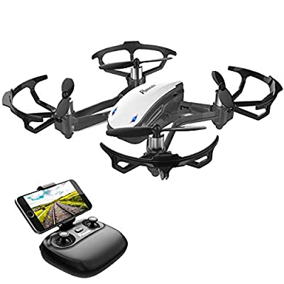 Mini Drone, Potensic D20 Nano Quadcopters with Camera, Altitude Hold, Remote Control, Headless Model, Small Drones for Kids/Beginners by Potensic