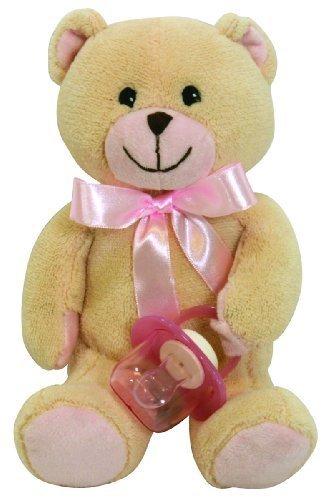 Amazon.com: Stephan bebé ultra suave peluche paci-bear y ...