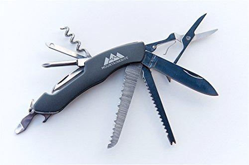 Taschenmesser Viper Schweizer Art, mit ausklappbaren Werkzeugen in Spitzenqualität