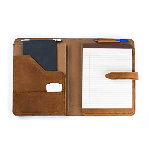 Leather Note Pad Holder - Saddleback Leather Co. Full Grain Leather Notepad Tablet Holder Includes 100 Year Warranty