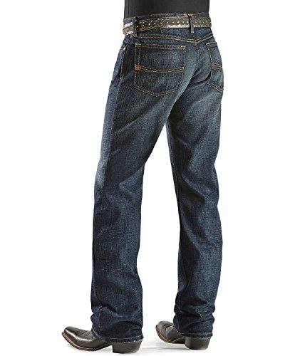 - ARIAT Men's Denim Jeans M4 Roadhouse Low Rise Relaxed Fit Big and Tall Dark Stone 31W x 38L