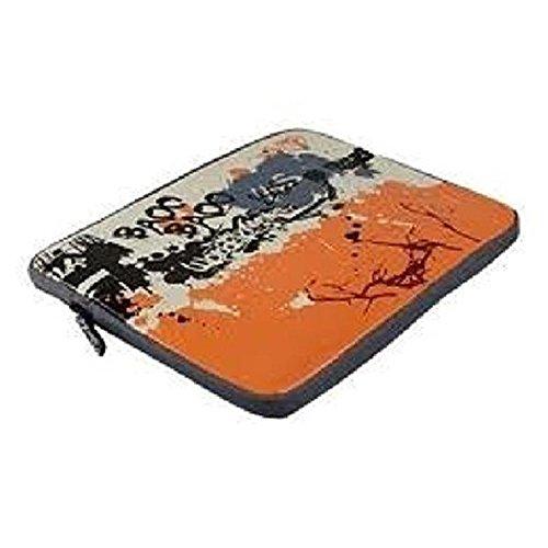 Lightpak 401120Laptop Sleeve Graffiti stampa borsa a tracolla, Multicolore