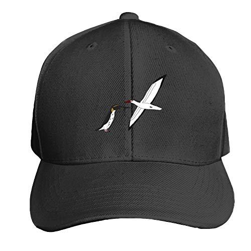 (Peaked hat Ocean Birds Adjustable Sandwich Baseball Cap Cotton Snapback)