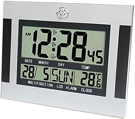 B Blesiya Reloj Despertador Digital Usos Múltiples para Cocinar En La Cocina, Calentar Leche, Siesta, Deporte, Yoga