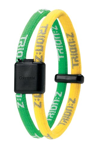 Amazon Com Trion Z Wrist Bracelet Large Yellow Green Sports