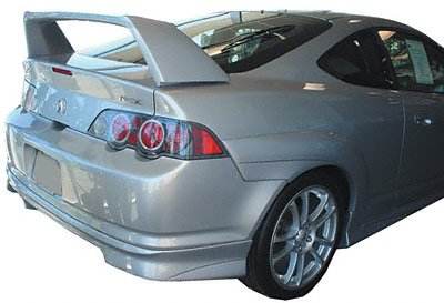2002-2006 RSX R Type JSP27405 Factory Style High Spoiler Primed (Fits : Acura)