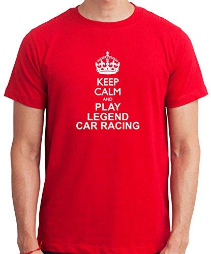 Keep calm and play Legend Car Racing Men T-Shirt