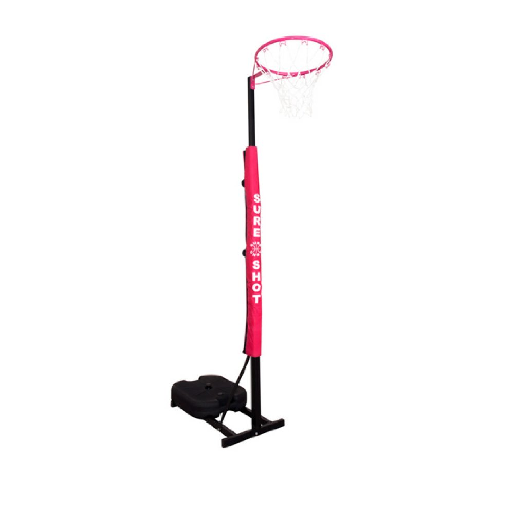 Sure Shot Netball Goal for Children Junior 9ft Adjustable Height with Padding