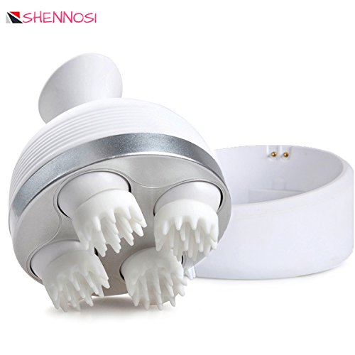 SHENNOSI Scalp Massager, Portable Scalp Head Massager Widely Used For Head, Neck and Fce, household Mini Massager