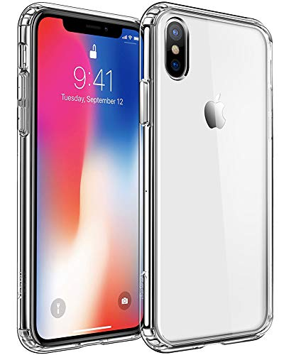 Mkeke Compatible with iPhone Xs Max Case, Clear Anti-Scratch Shock Absorption Cover Case iPhone Xs Max (Clear)