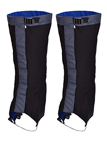 Tuban Waterproof Gaiters Snow Gaiter Hiking Climbing Gaiters Legging Covers for Outdoor Hiking Hunting Climbing Trekking Leg Protection