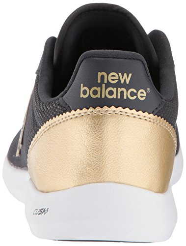 New Balance Womens 514v1 Sneaker Phantom / Classic Gold