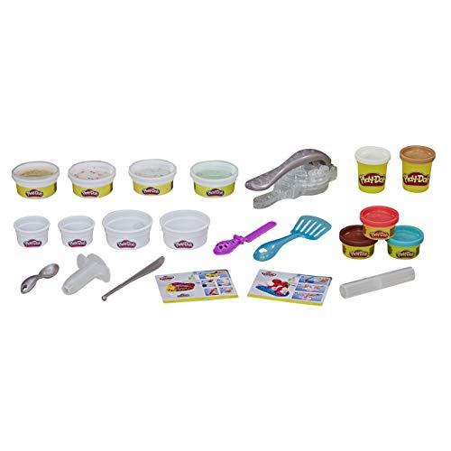 Kit Play-Doh Rollzies Sorvete E8055 Hasbro Multicor