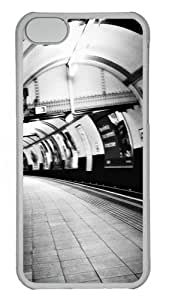 Apple iPhone 5C Case and Cover - London Custom PC Case Cover For iPhone 5C - Tranparent