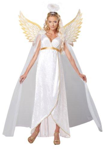 California Costumes Women's Guardian Angel Plus, White, ()