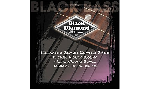 Black Diamond Electric Bass - 3