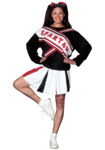 Fun World Womens Spartan Cheerleader Costume Small