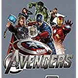 "FATHEAD Marvel Avengers Mural Official Vinyl Wall Graphic 18""x17"" Hulk, Captain America, Iron-Man, Hawkeye, Black Widow"