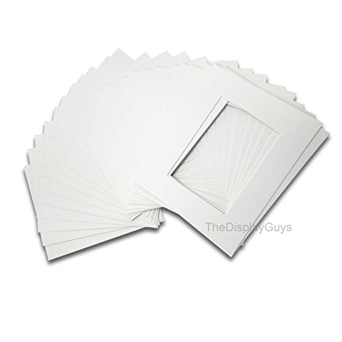 The Display Guys, Pack of 10pcs, Acid-Free White Pre-Cut for sale  Delivered anywhere in USA
