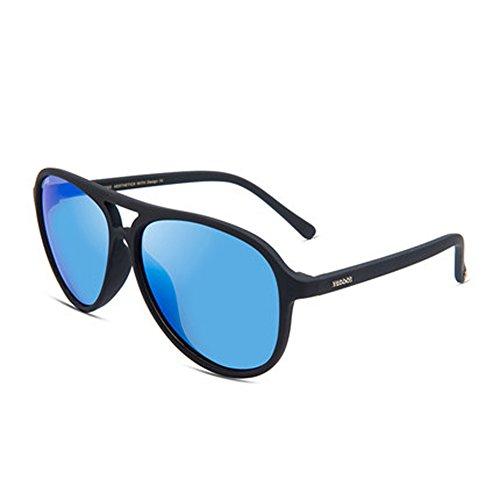 Lunettes de de lunettes hommes lunettes protection nouvelle polarisées hommes de UVA soleil de lunettes soleil boîte pour grande soleil rpnrz1a