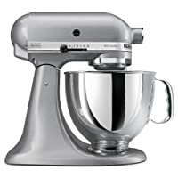Deals on KitchenAid KSM150PSSM Artisan 5 Qt. Stand Mixer