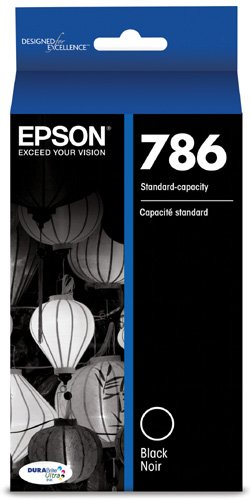 (Epson T786120 DURABrite Ultra Standard-Capacity Ink Cartridge, Black)