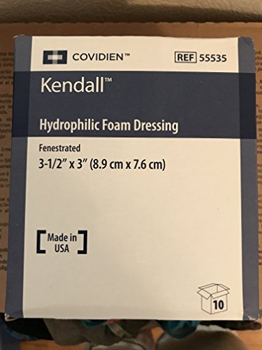 Kendall Copa Hydrophilic Foam Dressing 3.5X3 Fenestrated Nonadhesive - Model 55535 by - Stores Mall Kendall