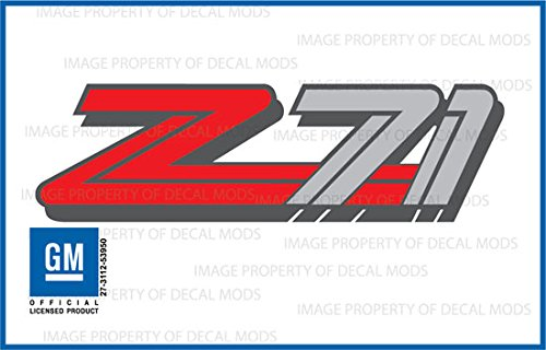 Chevy Silverado/GMC Sierra Z71 Decals Stickers - F (1999-2000) Bed Side 1500 2500 HD (Set of 2)