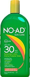 No-ad Spf#30 Sunscreen Lotion 16oz