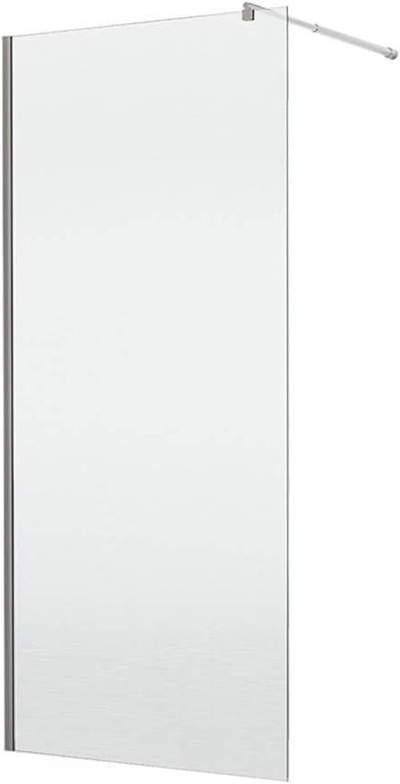 Home Deluxe Navaa - Mampara de Ducha (12 mm de Grosor), Transparente, 100 x 200 cm: Amazon.es: Hogar