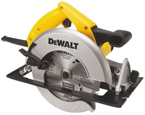 dewalt skil saw. dewalt dw359 7-1/4-inch 15 amp light weight circular saw dewalt skil