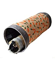 Rosewood Snuggles Carrot Fabric Play Tunnel