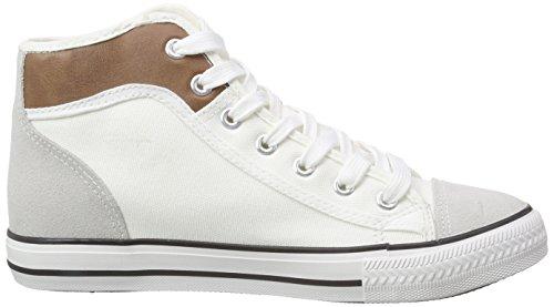 Nebulus Nevada, Femmes Chaussures Lacées, Blanc, Eu 41