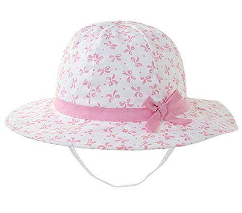 - Toddler Kids Baby Girls for Breathable hat and Sun Hat,Beach Hats Foldable, it Adjustable (1-2 yeas, Butterfly Knot Printing)