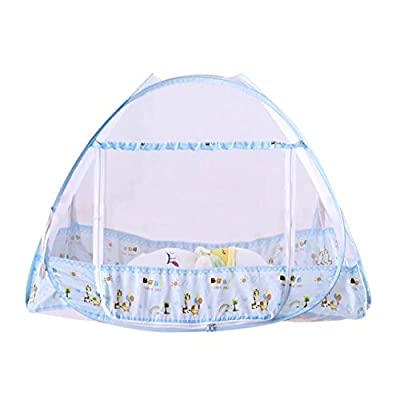 KateDy Baby Mosquito Net Yurts Nets Pop Up Mosquito Net Bed Guard Tent,Anti Mosquito Bites for Baby Toddlers Kids Adult Travel