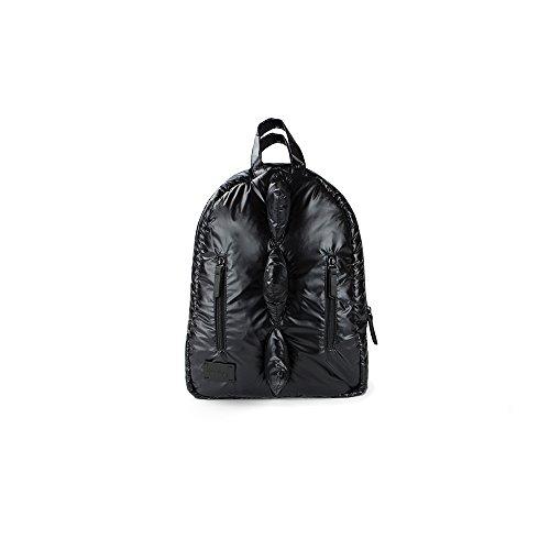 7 A.M. Voyage Mini Dino Backpack (Black)]()