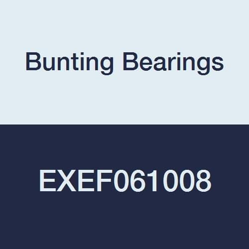 Bunting Bearings EXEF061008 Extra Lubricant with PTFE Flange Bearing, Powdered Metal, SAE 841, 3/8