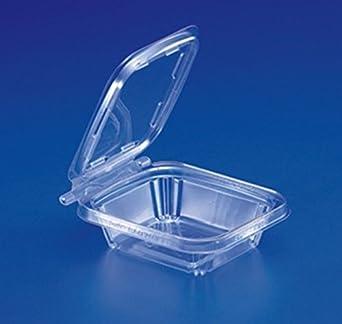 aa0fe8bb03ae Amazon.com: Inline Plastics Inline 8 oz. Clear Hinged Deli Container ...