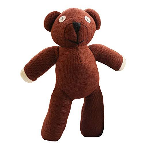 [해외]Rrapo MaiTak 박제 테 디 베어 Mr.Bean 빈 베어 생일 선물 귀여운 곰 털 인형 4 크기 곰 포옹 베개 축제 여자 아이 선물 / Rrapo MaiTak Plush Teddy Bear Mr.Bean Bean Bear Birthday Present Cute Bear Fluffy Doll 4 Size Bear Pillow Saking Wom...