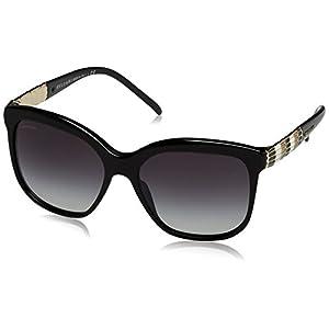 Bvlgari 8155 501/8G Black 8155 Cats Eyes Sunglasses Lens Category 3