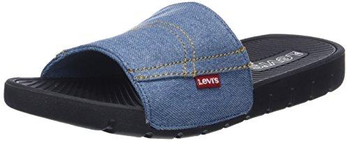 Levi's a Aperta Blu Sandali Blue Punta Denim Uomo Jeans June rqZP4r