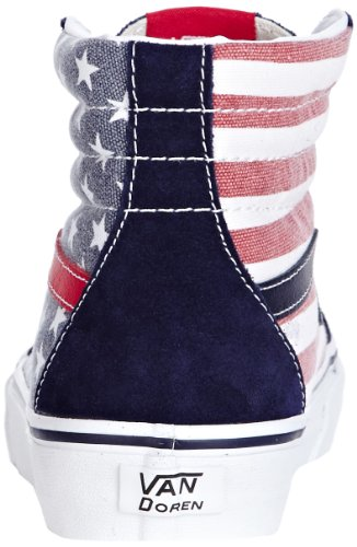 Vans U Sk8-Hi, Zapatillas Altas Unisex Adulto Multicolor (Van Doren Stars & Strip)
