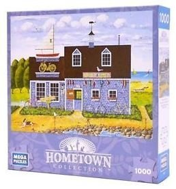 Mega Brands Hometown Collection Puzzles - Wheels and Keels - 1000 Pieces