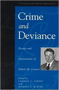 social deviance term papers